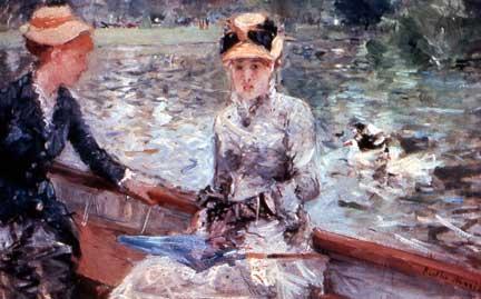 Berthe Morisot, Summer's Day, ca. 1879