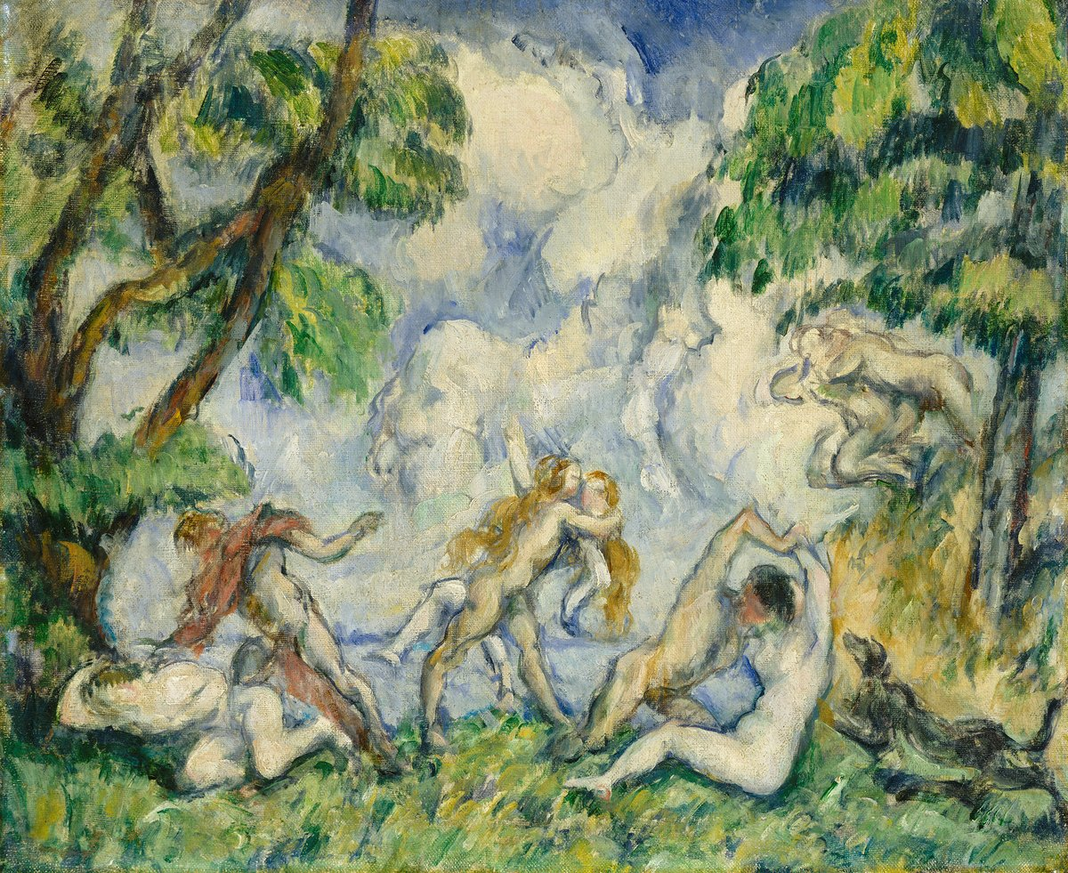 Paul Cezanne, Battle of Love, c. 1880