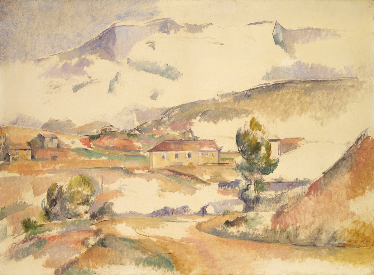 Paul Cezanne, Montagne Sainte-Victoire, from near Gardanne, c. 1887