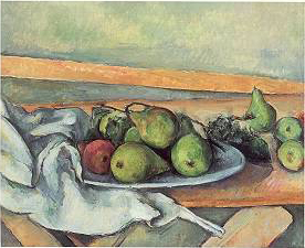 Paul Cezanne, Still Life With Pears, ca. 1885