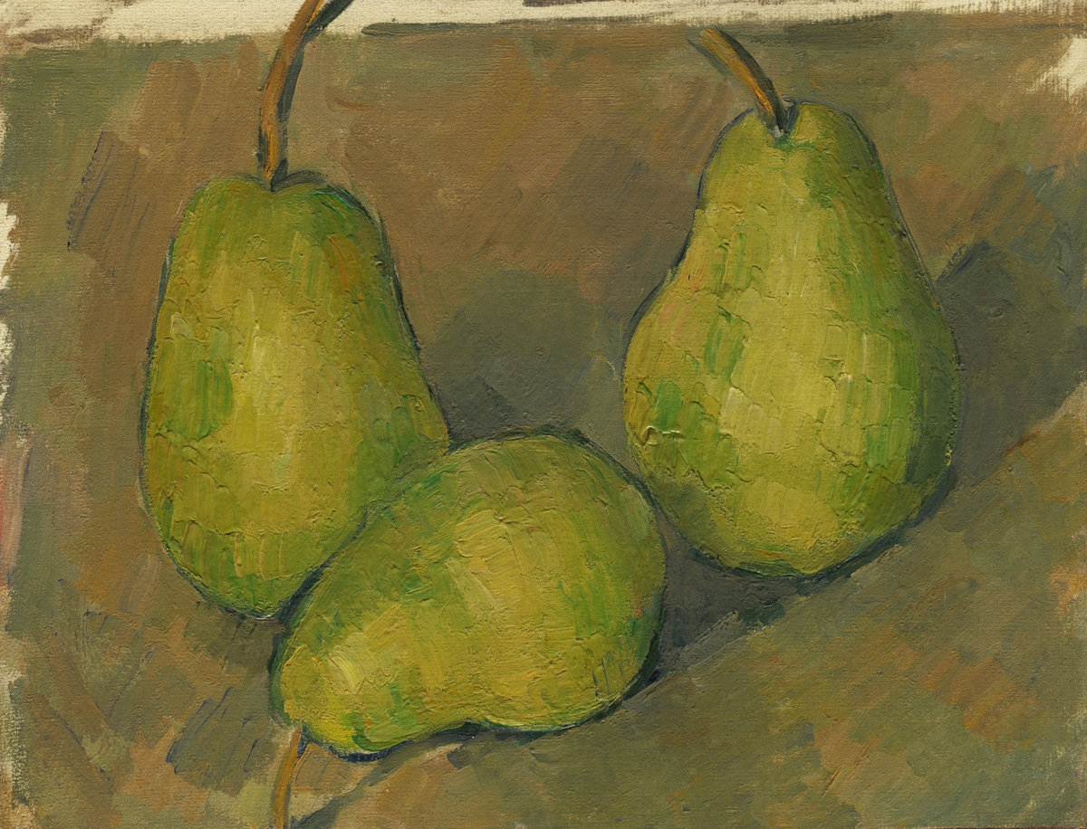 Paul Cezanne, Three Pears, 1878/1879