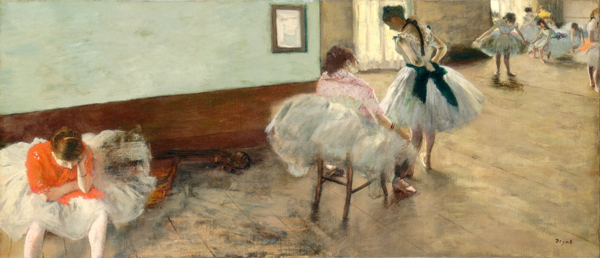 Edgar Degas, The Dance Lesson, 1879