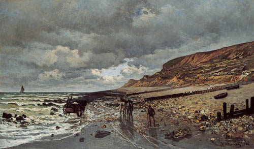 Claude Monet, The Headland of the Hève at Low Tide