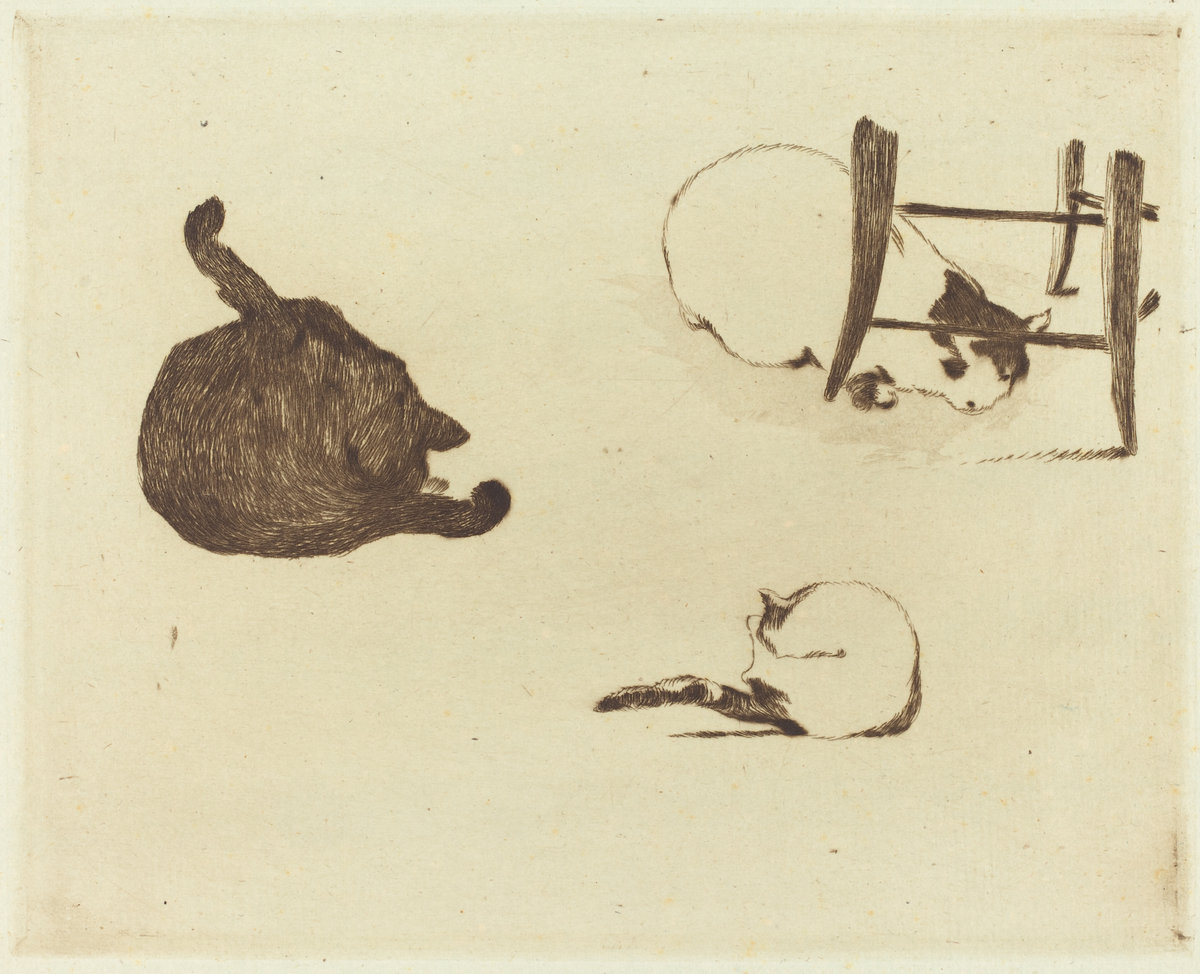 Èdouard Manet, The Cats (Les Chats), 1869
