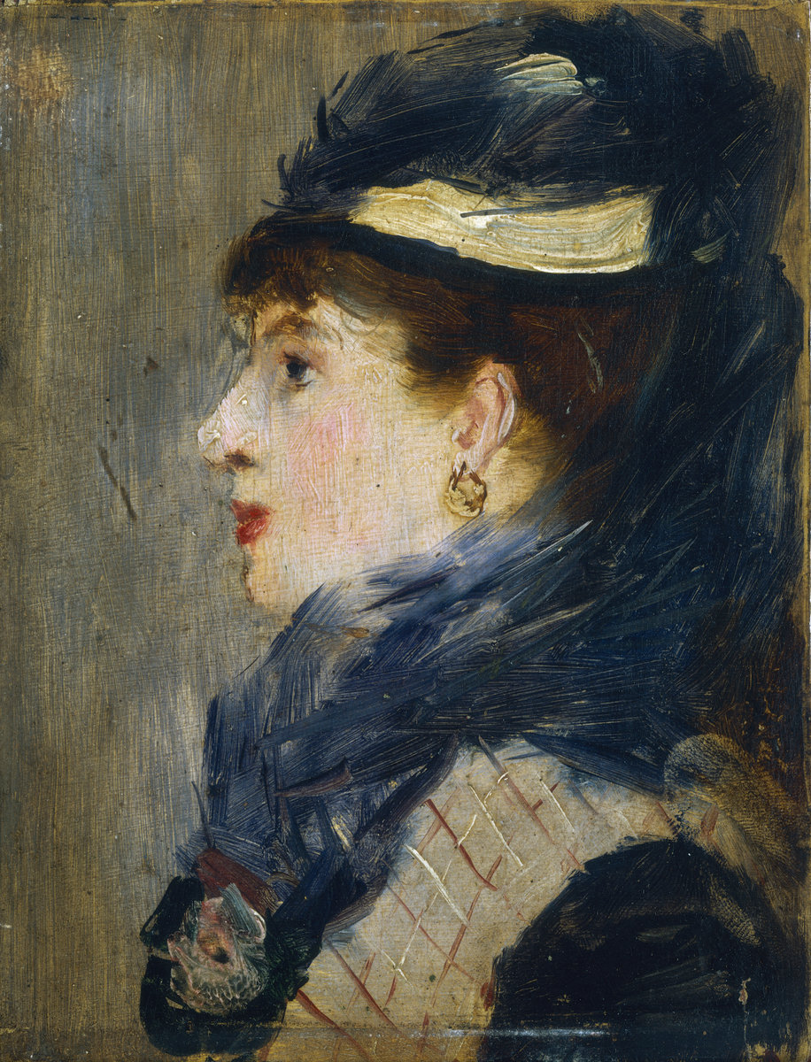 Èdouard Manet, Portrait of a Lady, c. 1879