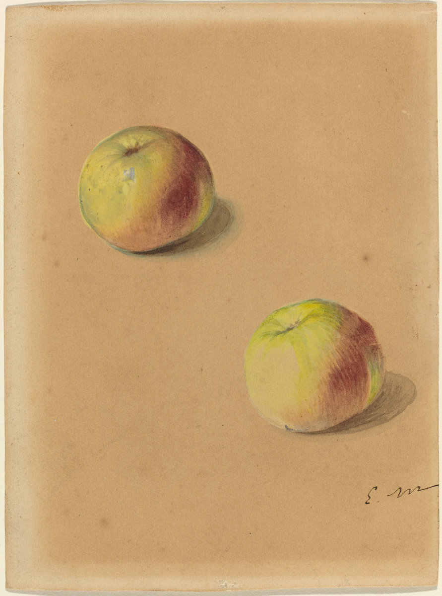 Èdouard Manet, Two Apples, 1880