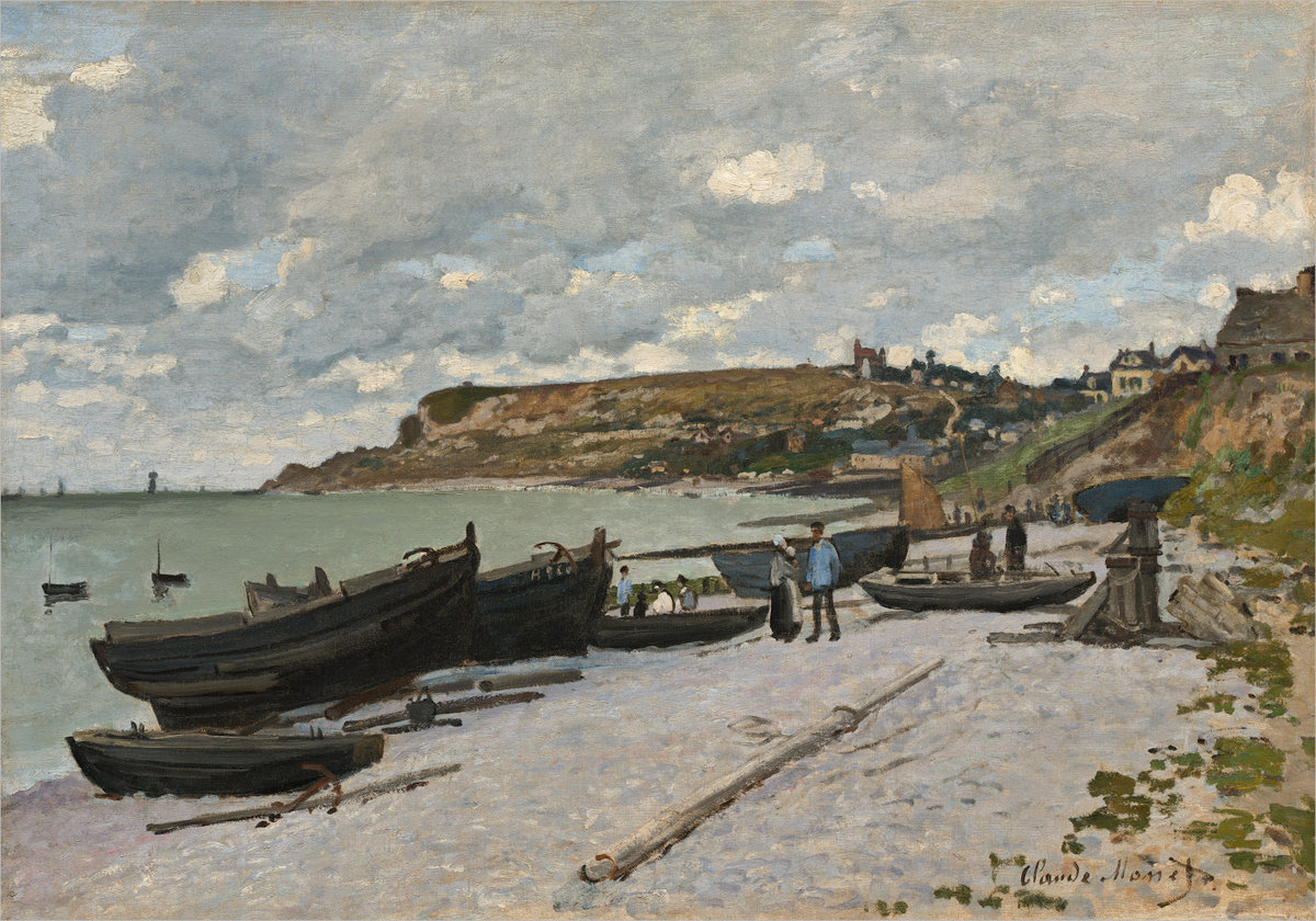 Claude Monet, Sainte-Addresse , 1867