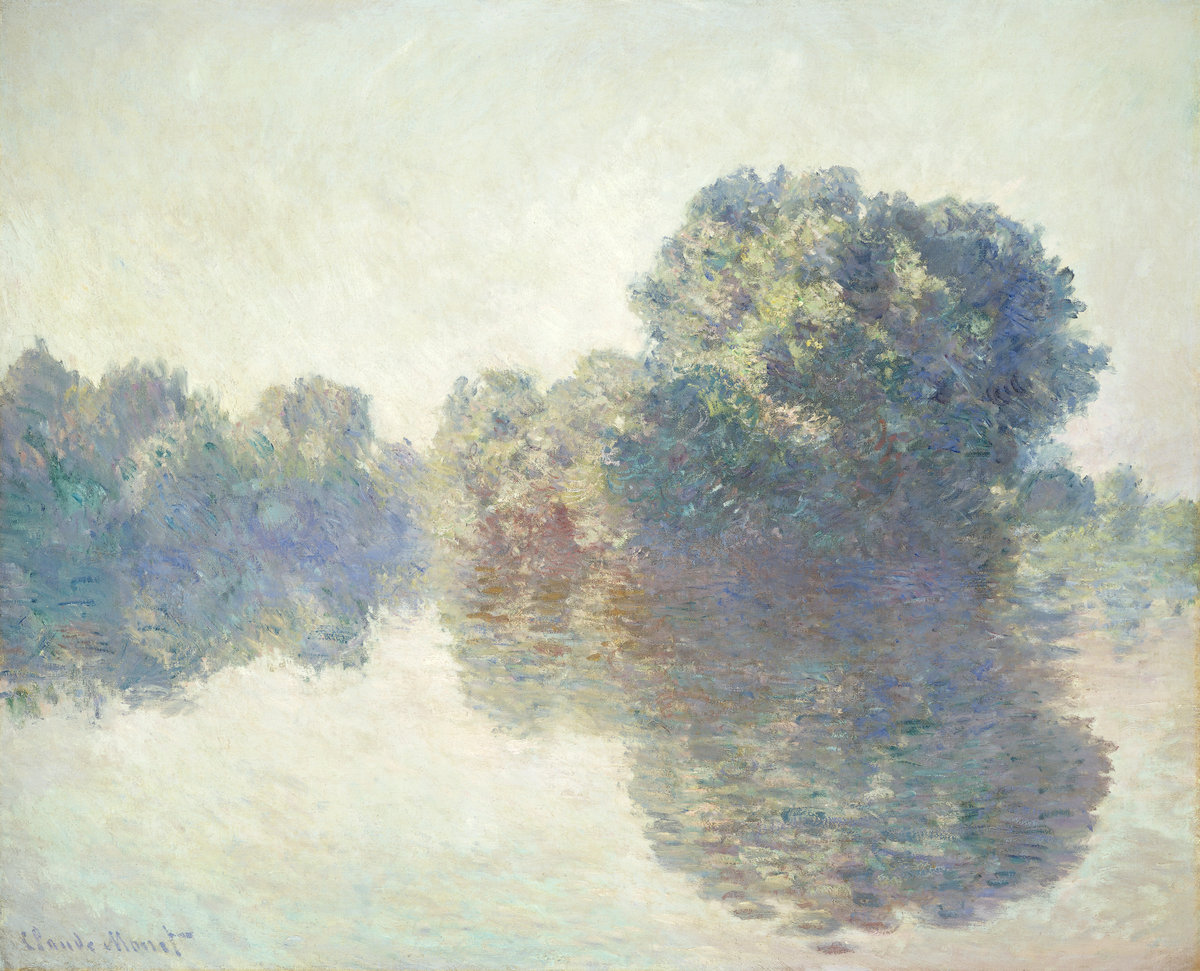Claude Monet, The Seine at Giverny, 1897