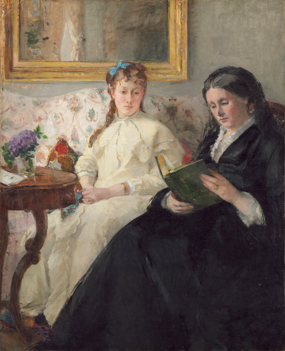 Berthe Morisot, The Mother and Sister of the Artist, 1869/1870