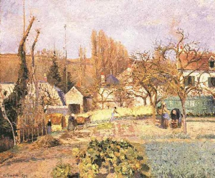Pissaro, The Kitchen Gardens