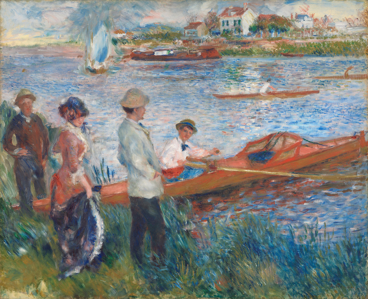 Pierre-Auguste Renoir, Oarsmen at Chatou, 1879
