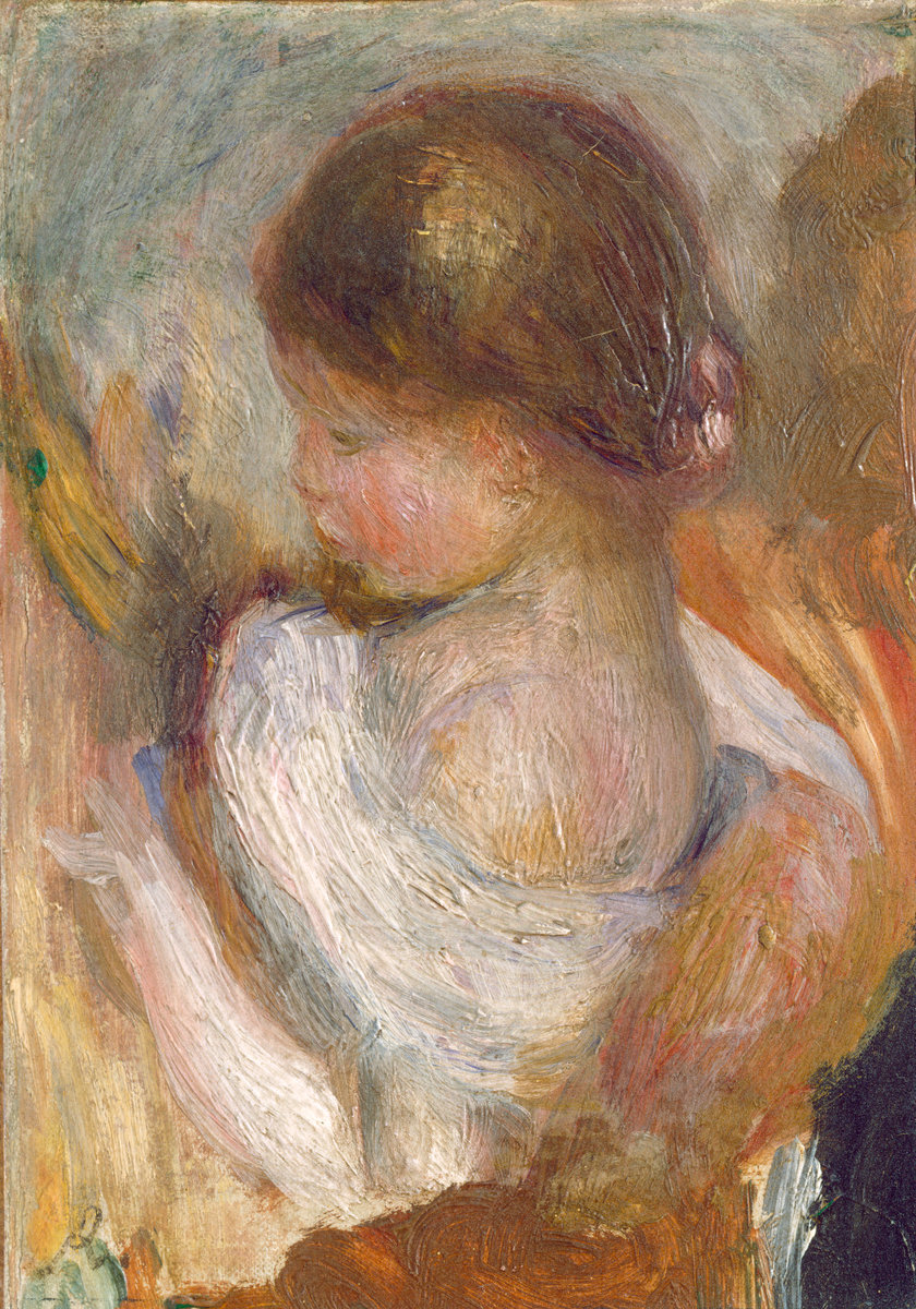 Pierre-Auguste Renoir,Young Girl Reading, c. 1888