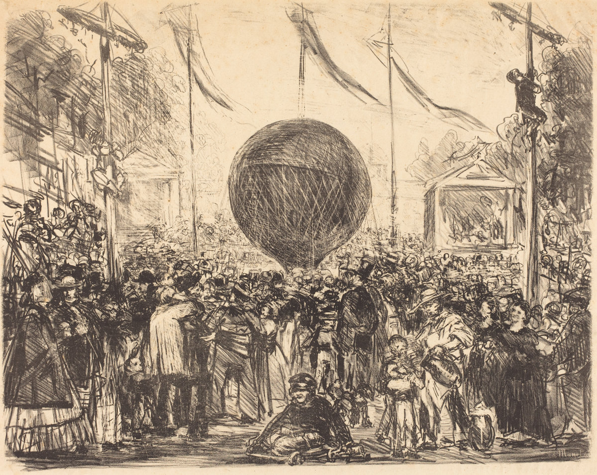 Èdouard Manet, The Balloon, 1862