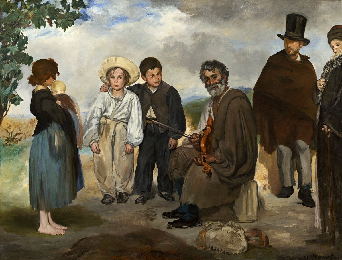 Èdouard Manet, The Old Musician, 1862