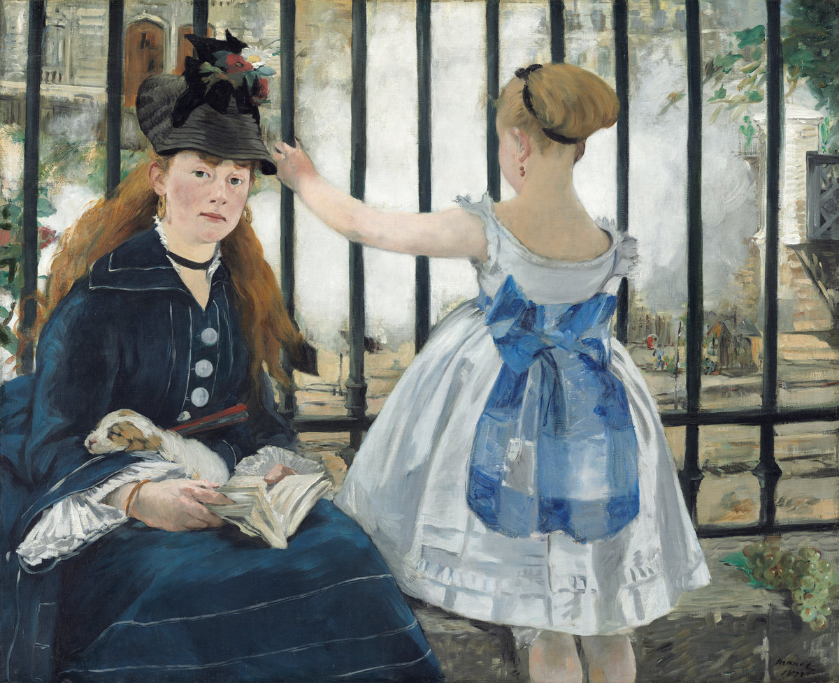 Èdouard Manet, The Railway, 1873